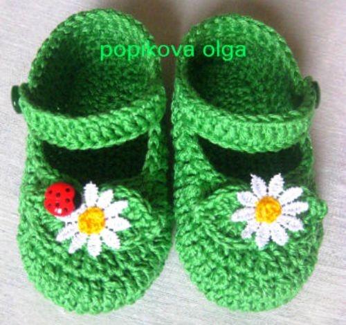 Детская обувь Божья коровка