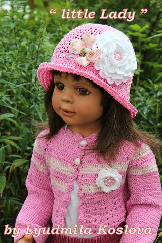 Вязаные шапочки для деток Прелестница