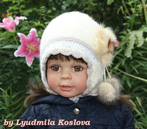 Вязаные шапочки для деток Модница