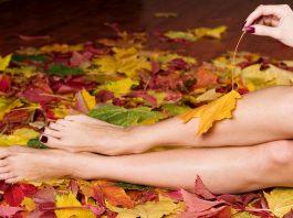 10 советов по уходу за кожей ног осенью