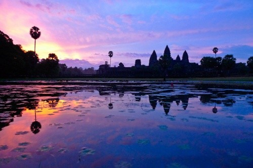 Ангкор-Ват, Сиемреап, Камбоджа