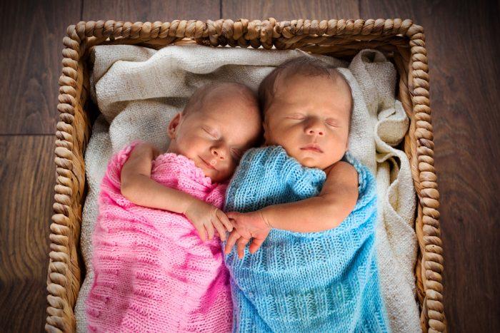 разнополые двойняшки фото