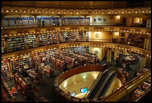 Книжный магазин в Буэнос-Айресе
