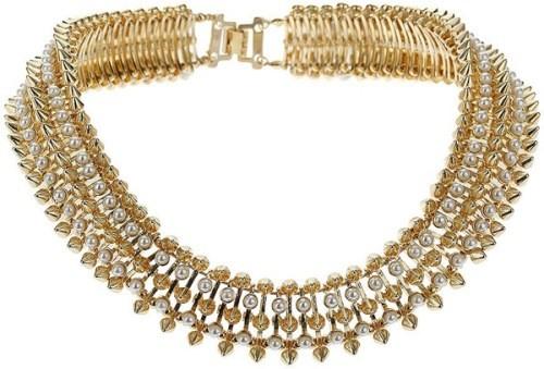 Ожерелье Premium Pearl Spike Collar