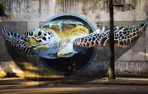 Уличное искусство в Буэнос-Айресе