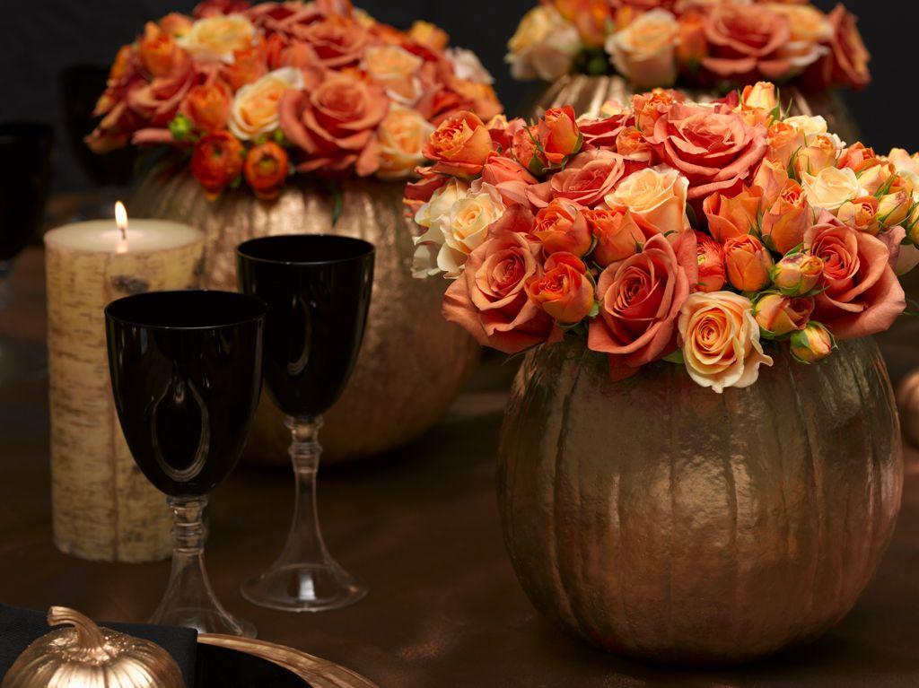 Необычная ваза на Хеллоуин