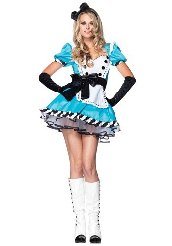 Алиса в Стране чудес - Костюмы на Хеллоуин для девушек 2