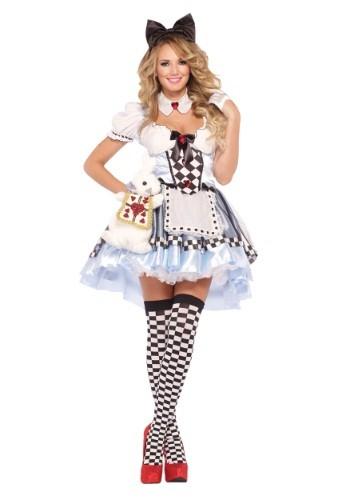 Алиса в Стране чудес - Костюмы на Хеллоуин для девушек 4