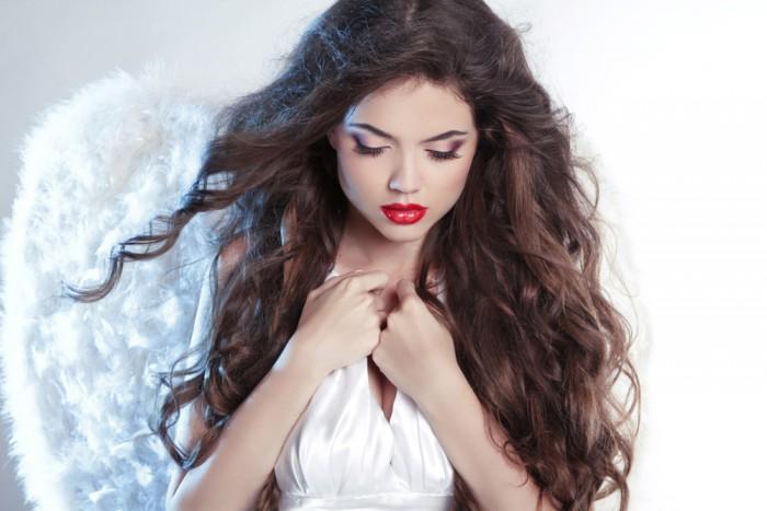Ангел макияж