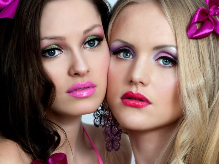 Барби макияж