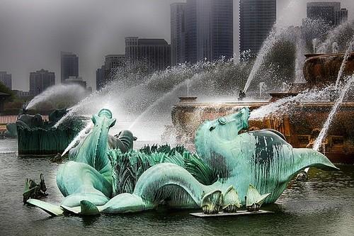 Букингемский фонтан
