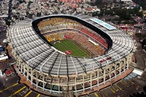 Эстадио Ацтека — 114,463 — Мехико, Мексика