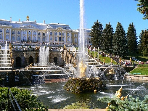 Фонтан Петергоф, Санкт-Петербург