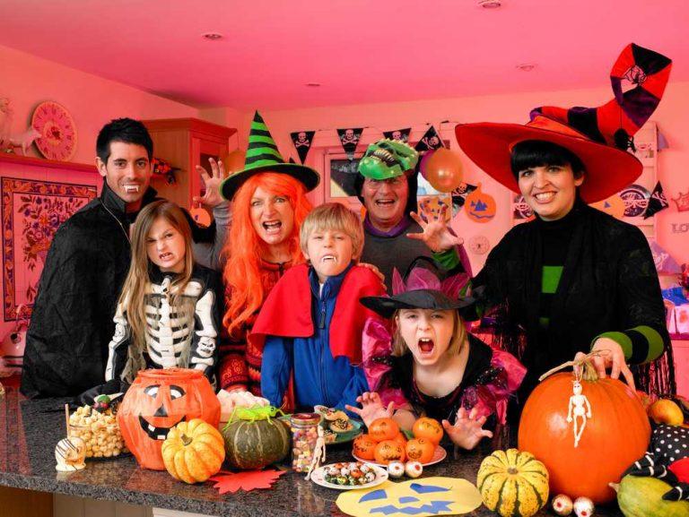 5 занятий на Хеллоуин для всей семьи