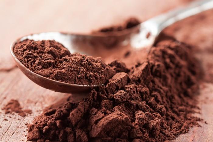 Какао-порошок дробленные бобы какао