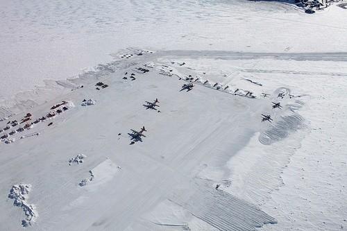 Ледяная Полоса, Антарктика