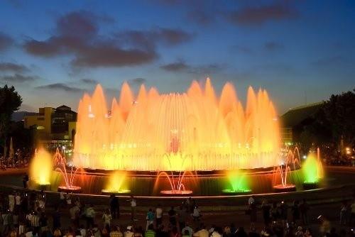 Магический фонтан Монжуик, Барселона