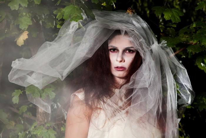 Мертвая невеста макияж