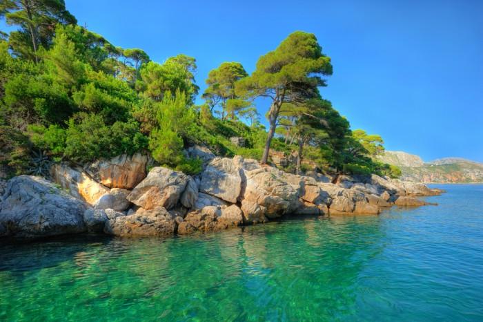 Остров Локрум (Хорватия)