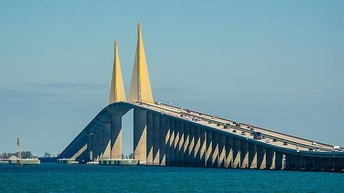 Мост Саншайн Скайуэй, Флорида