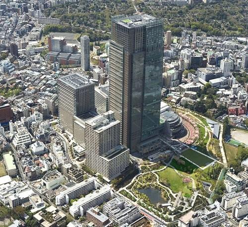 Торговый центр Токио Мидтаун молл - Tokio Midtown Mall (Токио, Япония)