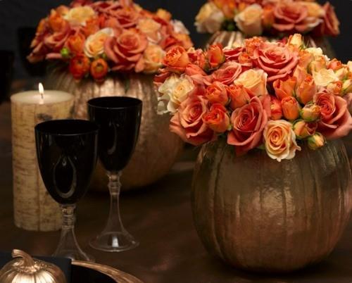 Необычная ваза на Хэллоуин