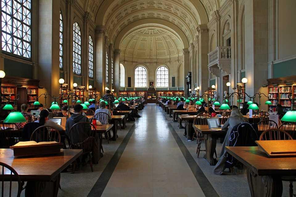 Бостонская публичная библиотека (Новая Англия)