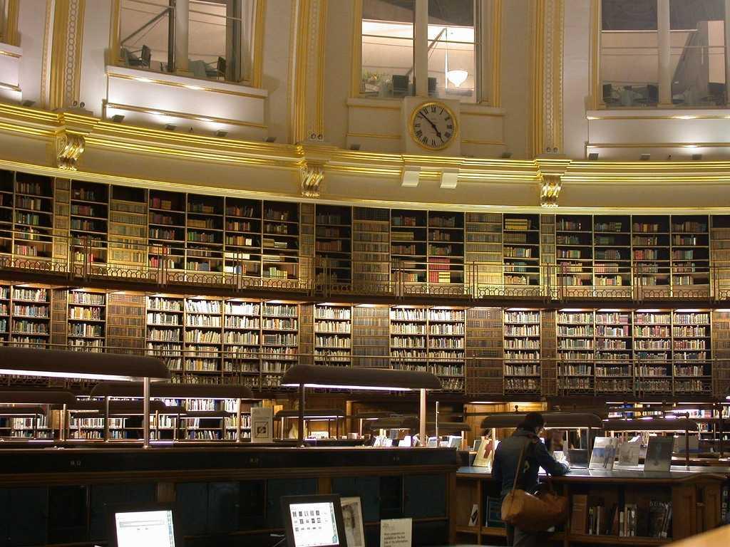 Читальный зал Британского музея, Лондон (Англия)