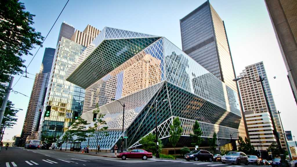 Центральная Библиотека Сиэтла, штат Вашингтон