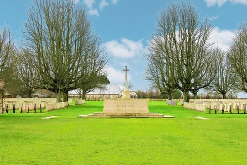 Британское кладбище, Байё, Франция