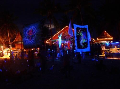 Вечеринка полной луны, Ко-Панган (Таиланд)
