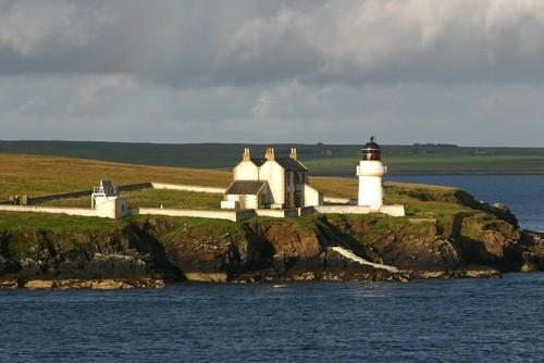 Маяк Кентик Хед, Оркнейские острова (Шотландия)