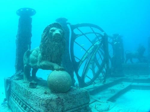 Подводное кладбище, Майами, США