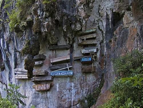 Висячие гробы, Филиппины