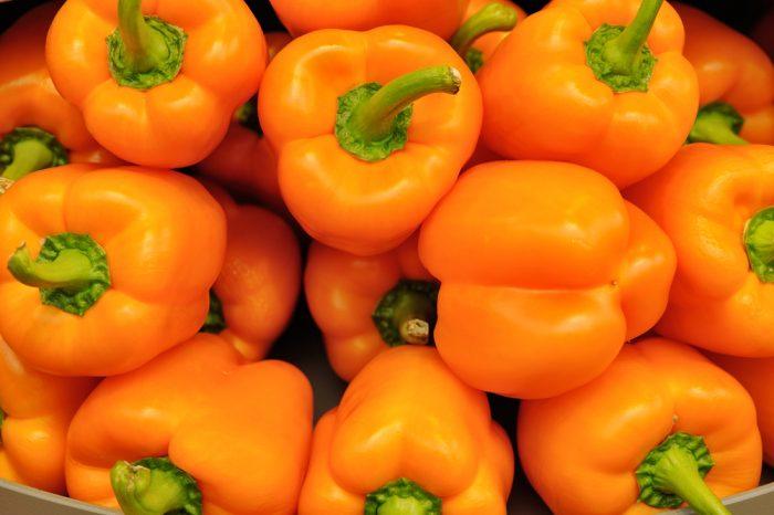 Оранжевый болгарский перец