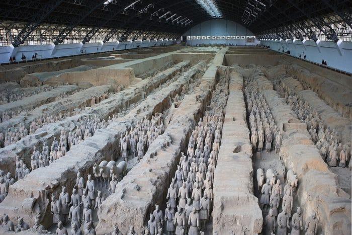 армия в Сиань, Китай