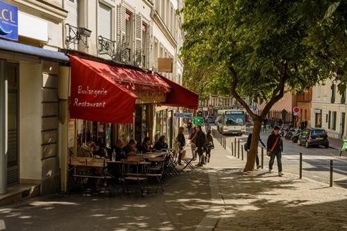 кафе Le Coquelicot