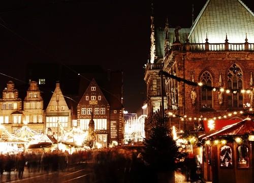 Волшебный рождественский ярмарок в Бремене