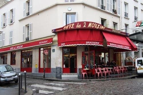 кафе Les Deux Moulins