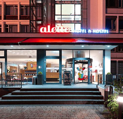 хостел Aletto Kudamm Hotel & Hostel