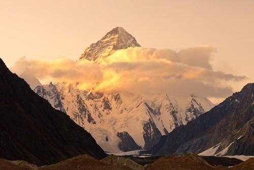 К2 (Чогори), граница Пакистана и Китая