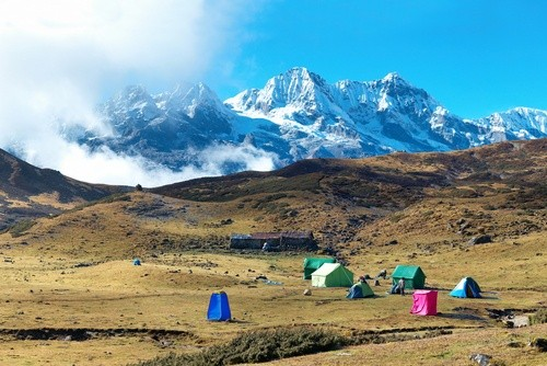 Канченджанга, Гималаи