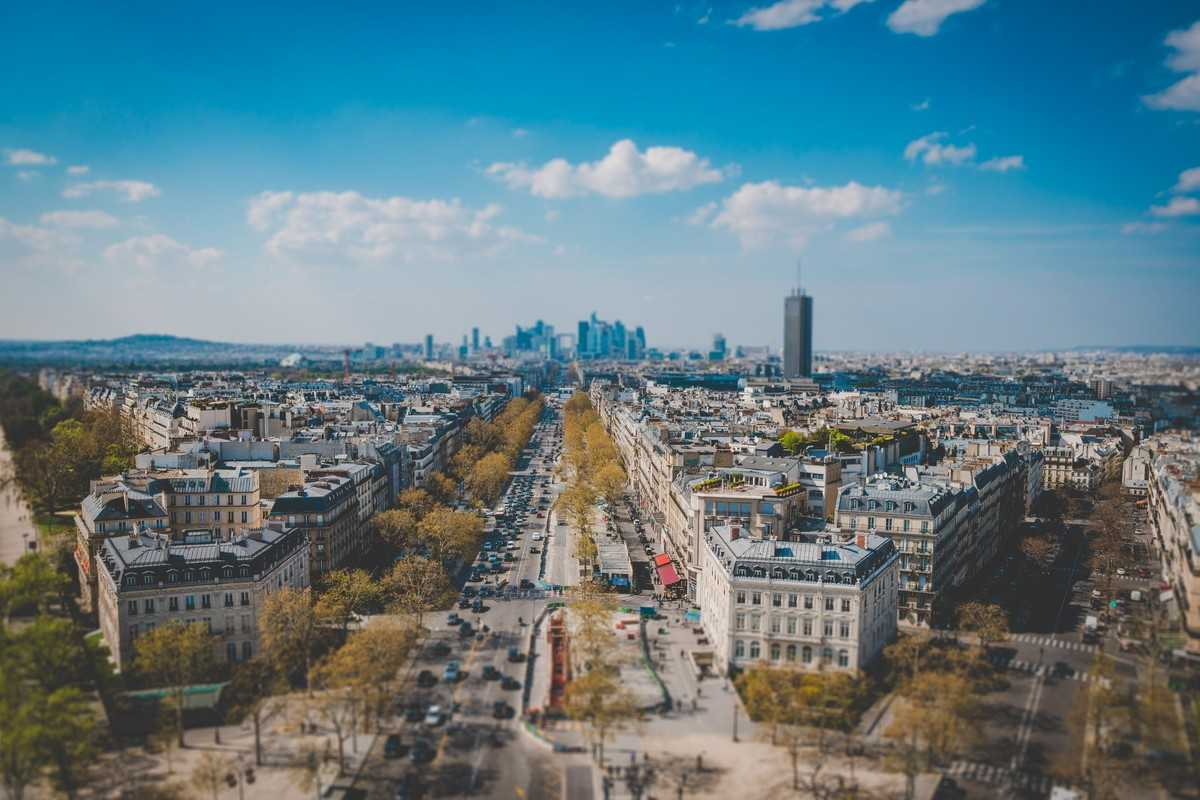 Елисейские поля, Париж (Франция)