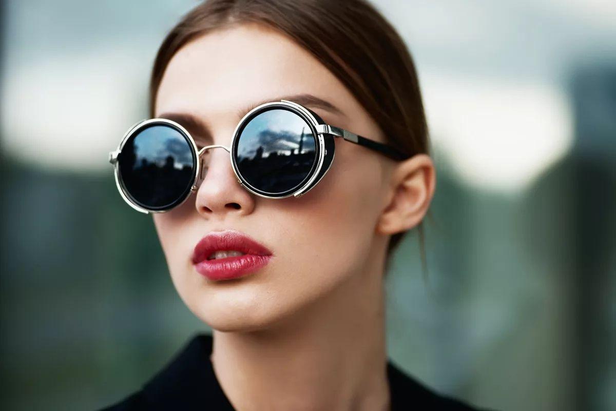 Классические круглые очки