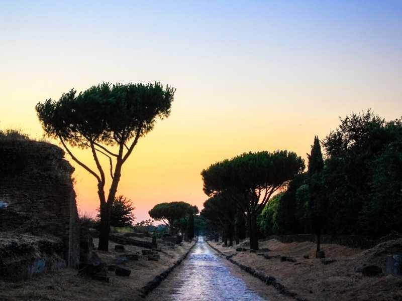 Виа Аппия, Рим (Италия)