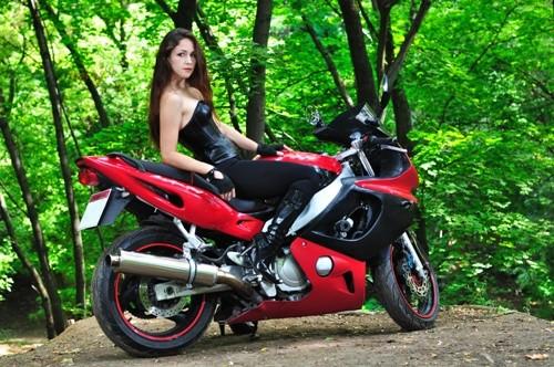 Покататься на спортивном мотоцикле