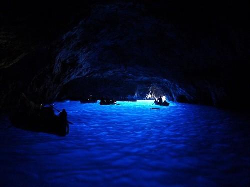 Голубой грот (Капри, Италия)