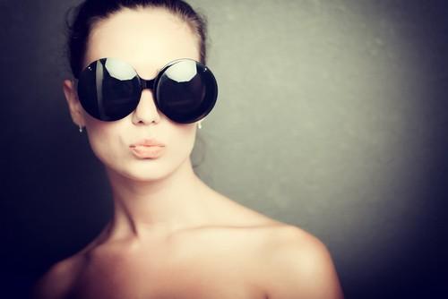 Круглые очки Джеки О