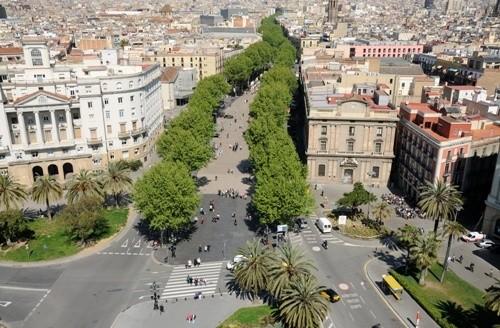 Ла-Рамбла, Барселона (Испания)