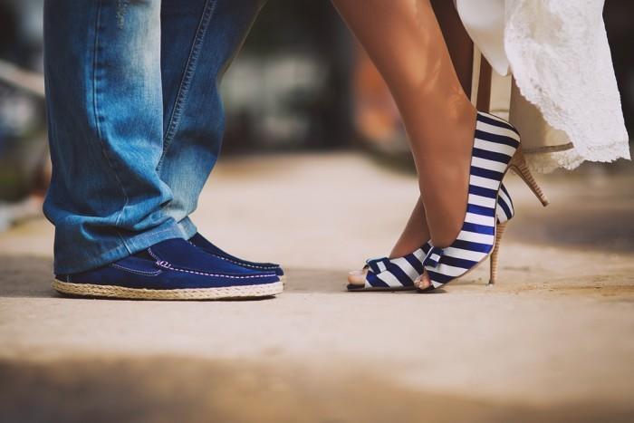 Небольшой каблук